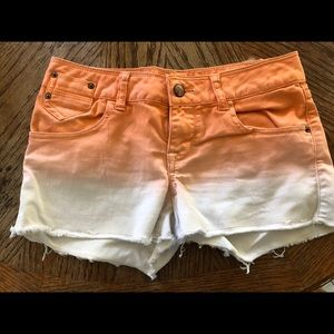 American Rag Cut Off ombré Short